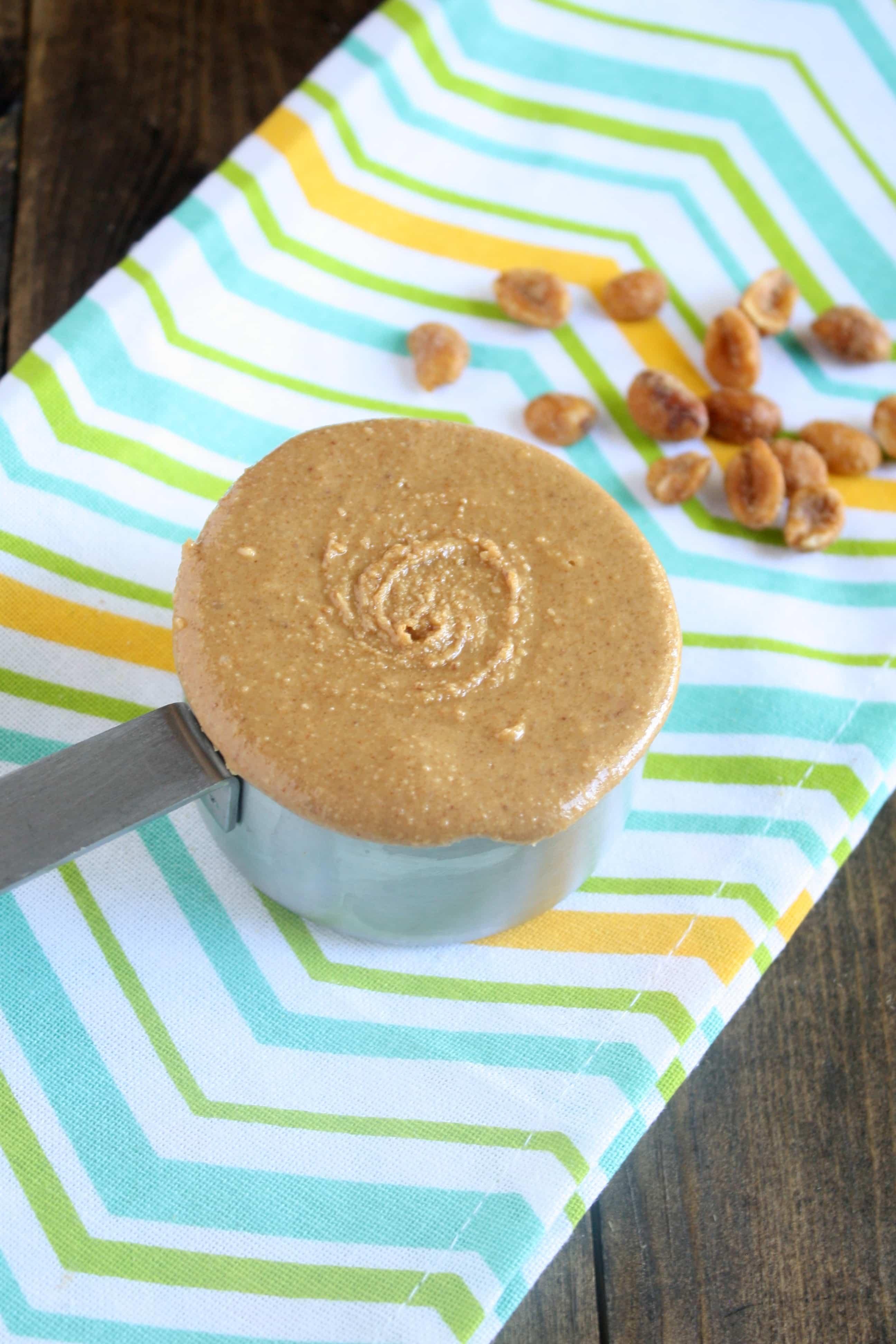Homemade Honey Roasted Peanut Butter - Live Well Bake Often