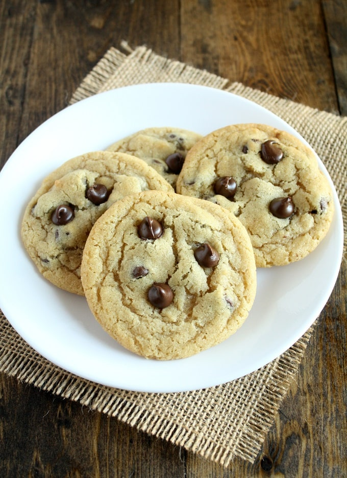 recipe chocolate small batch chip cookie