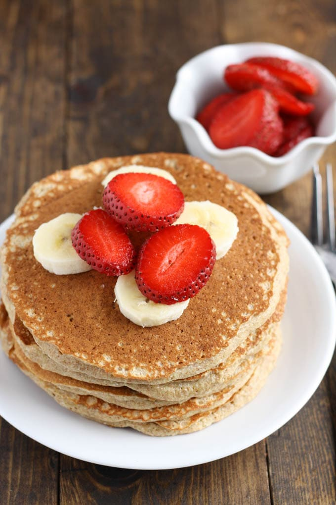 Whole Wheat Pancakes - Live Well Bake Often