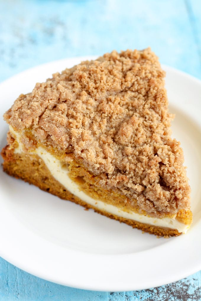 Pumpkin Cream Cheese Crumb Cake Live Well Bake Often