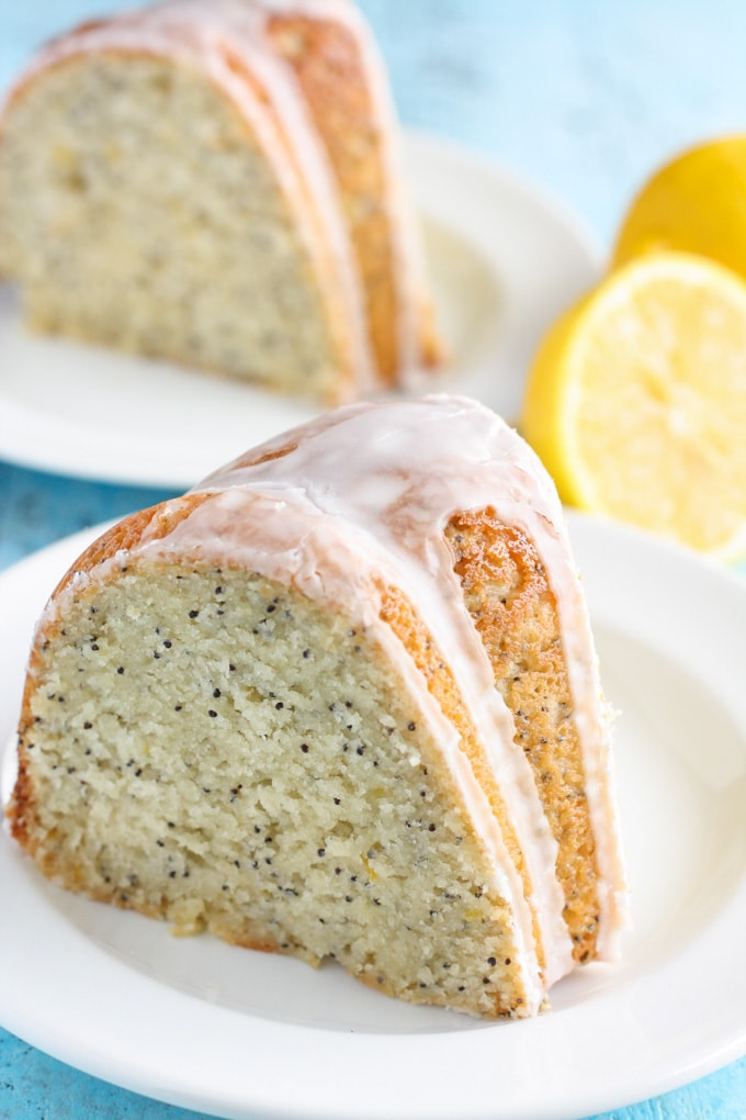 Moist Lemon Poppy Seed Bundt Cake