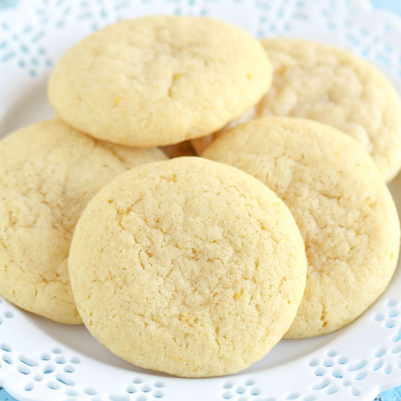 Lemon Cookies - Live Well Bake Often