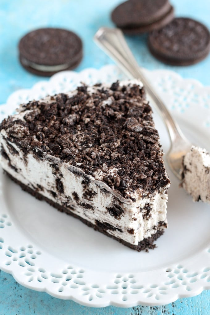 No-Bake Oreo Cheesecake - Live Well Bake Often