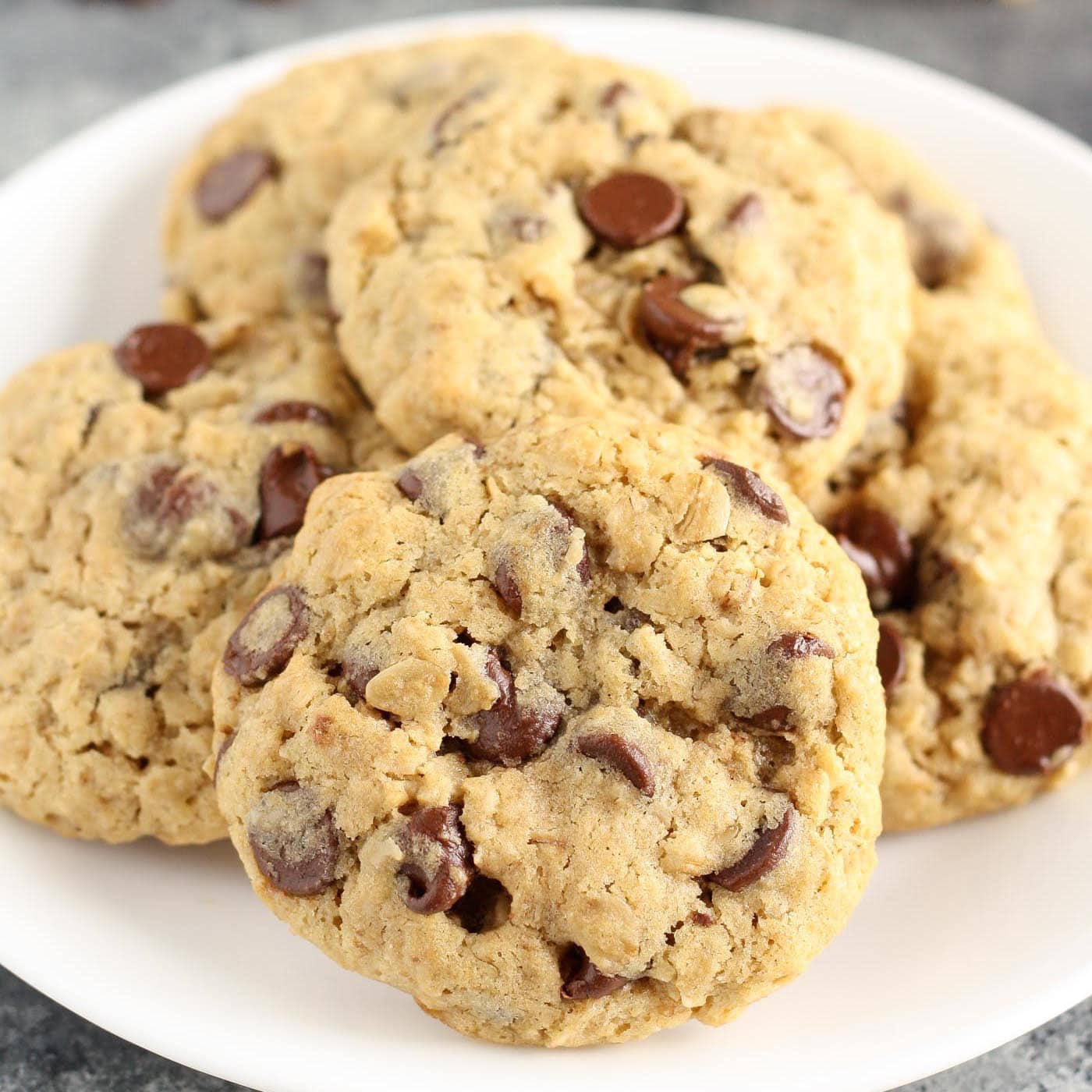 Small Batch Oatmeal Chocolate Chip Cookies Live Well Bake Often