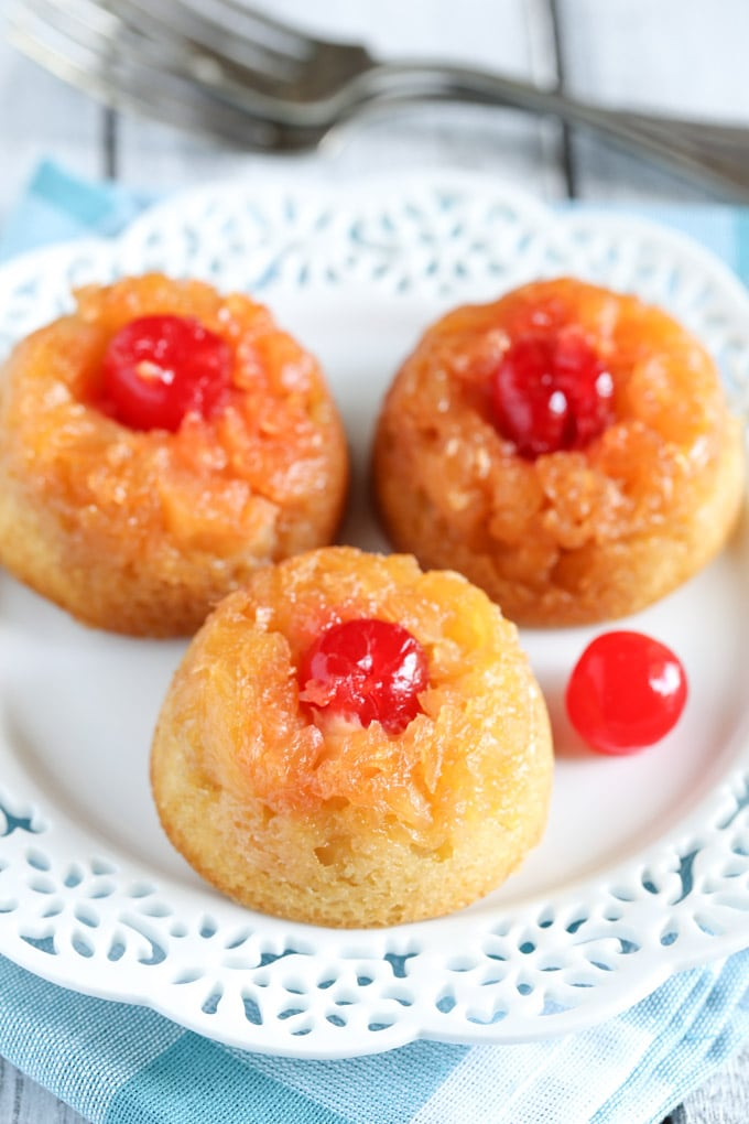 How To Mail Mini Pineapple Upside Down Cake