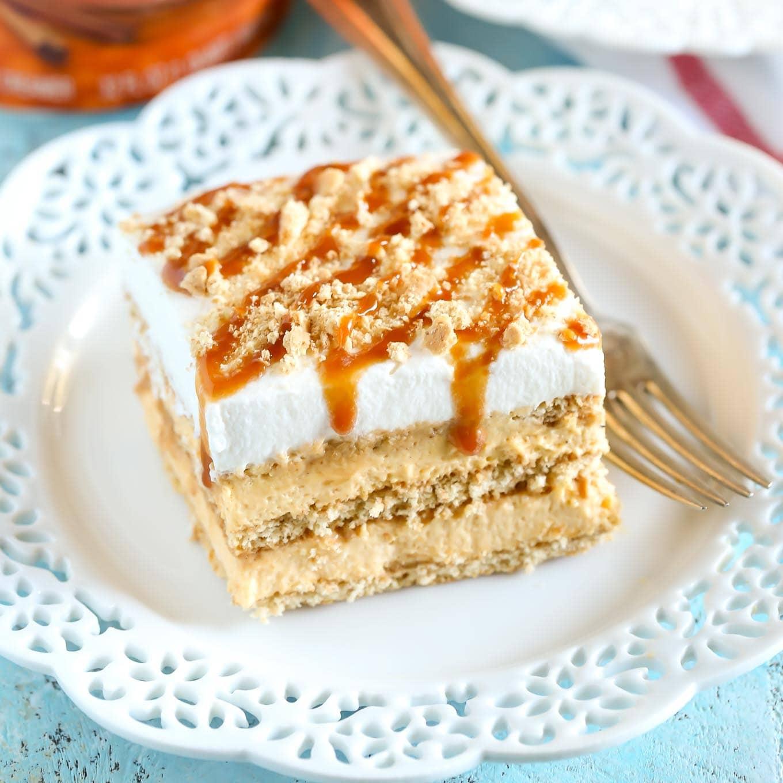 Chocolate Pumpkin Icebox Cake Recipe