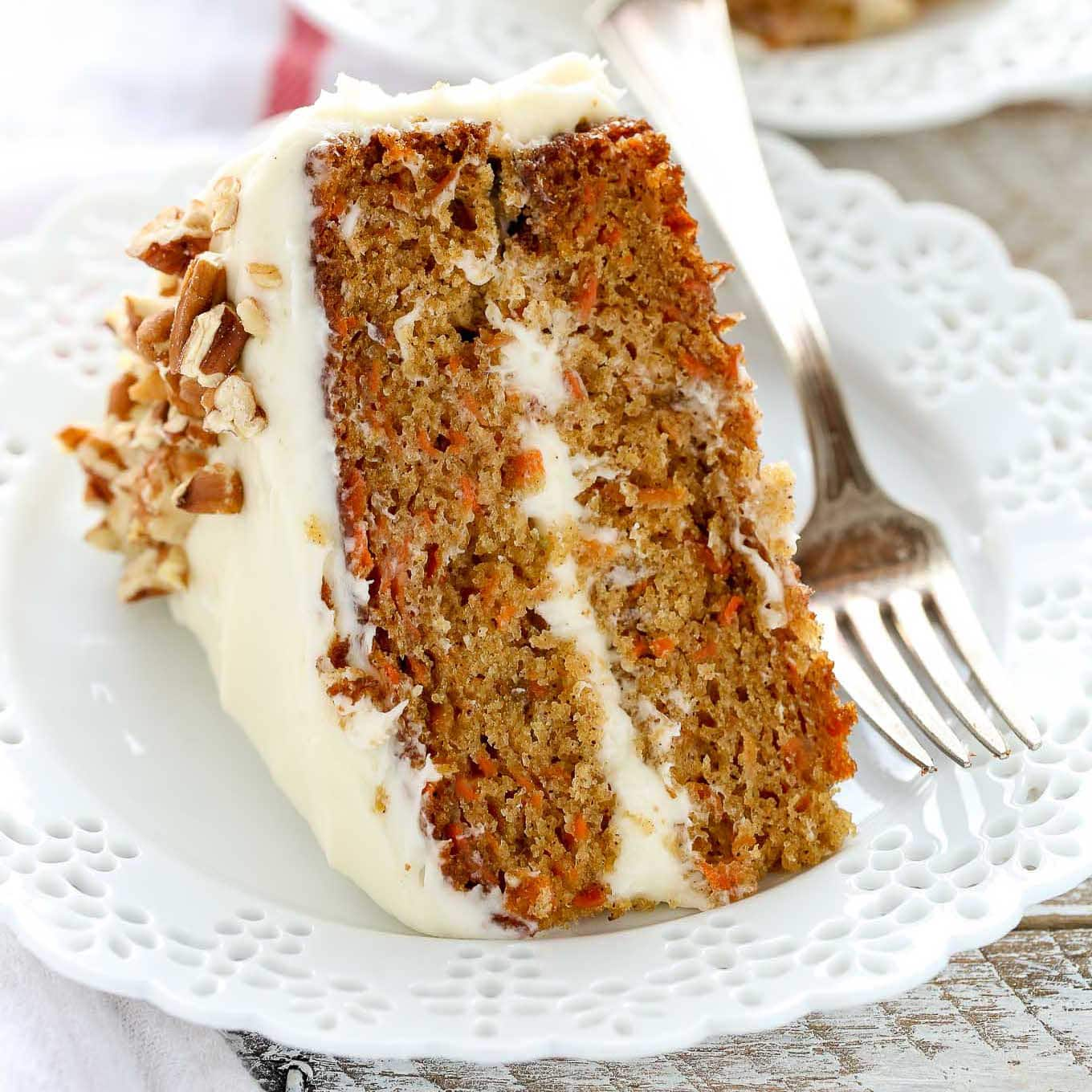 Best Carrot And Walnut Cake