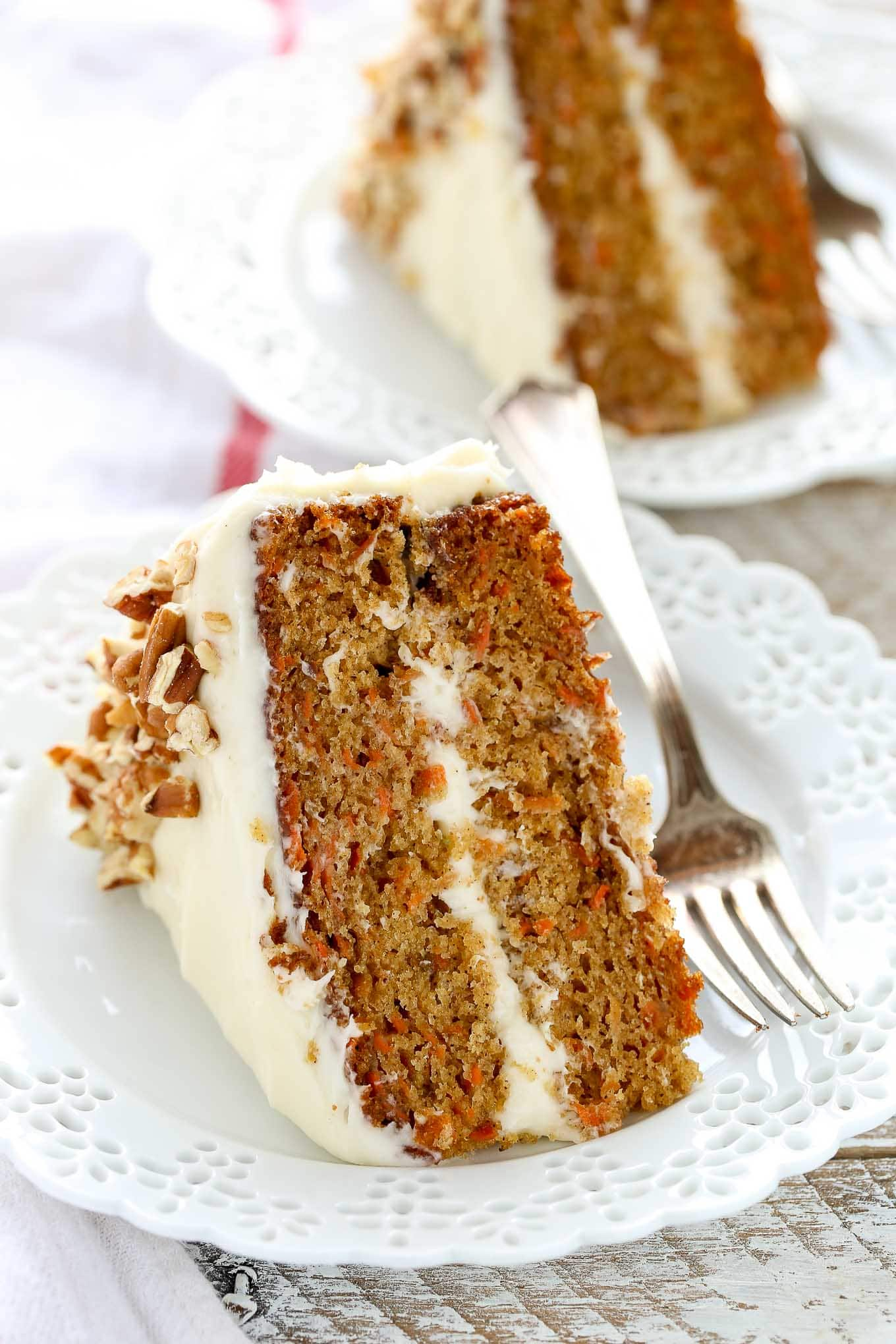 Easy Moist Homemade Carrot Cake