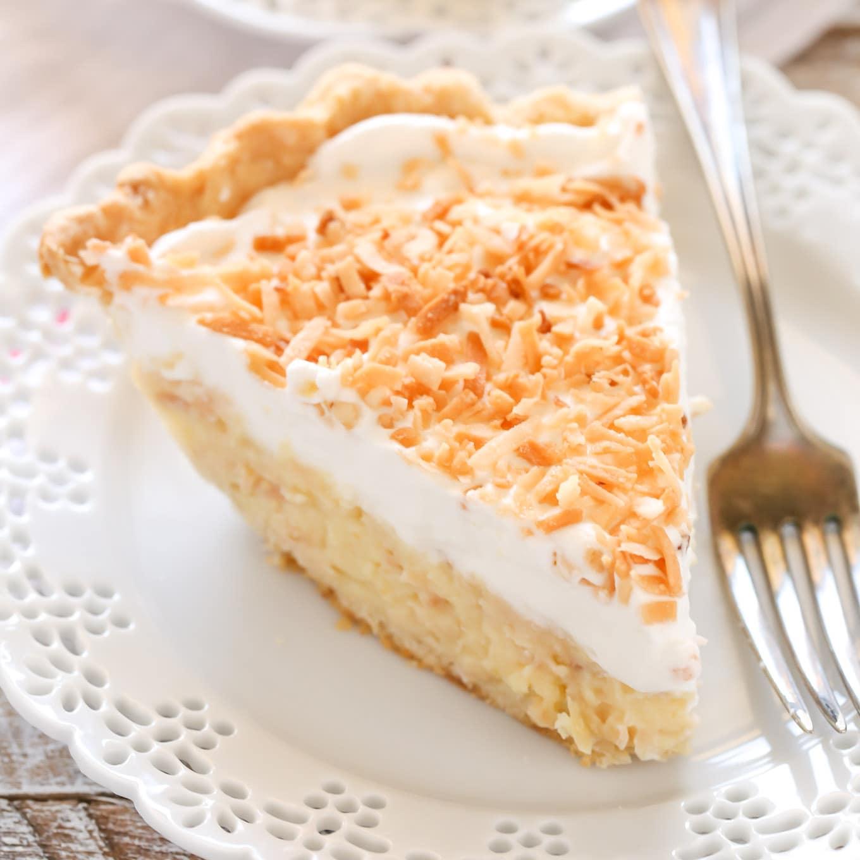 Coconut Cream Pie - Live Well Bake Often