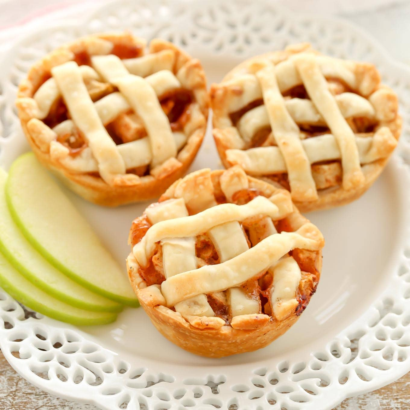 Mini Apple Pies - Live Well Bake Often