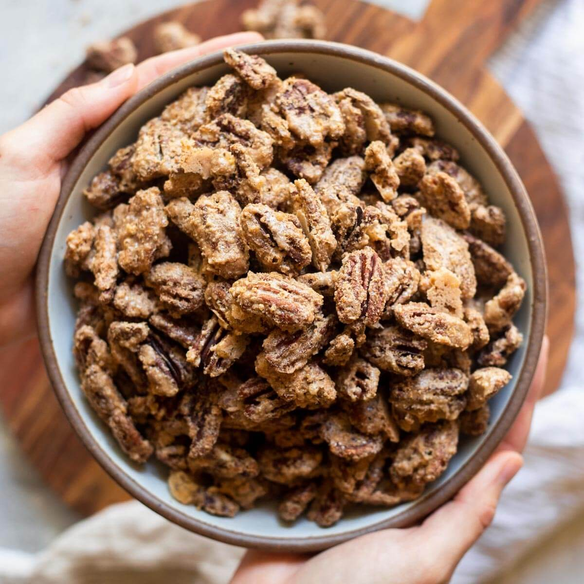 Homemade Candied Pecans Live Well Bake Often