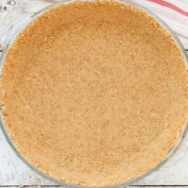How To Make A Graham Cracker Crust - Live Well Bake Often