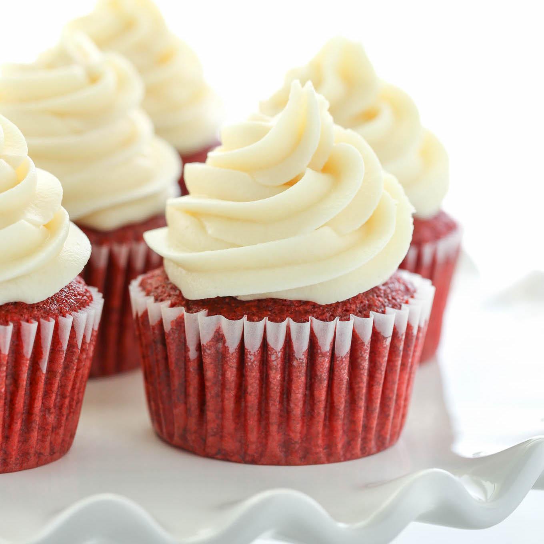 Red Velvet Cupcakes Live Well Bake Often
