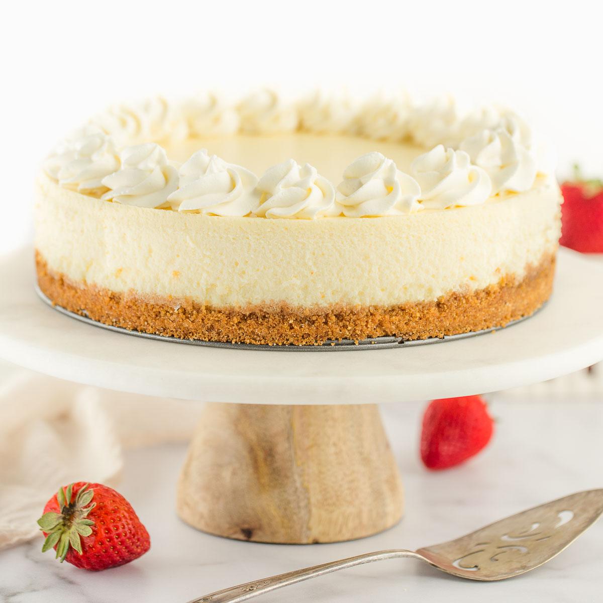 Classic Cheesecake Recipe - Live Well Bake Often
