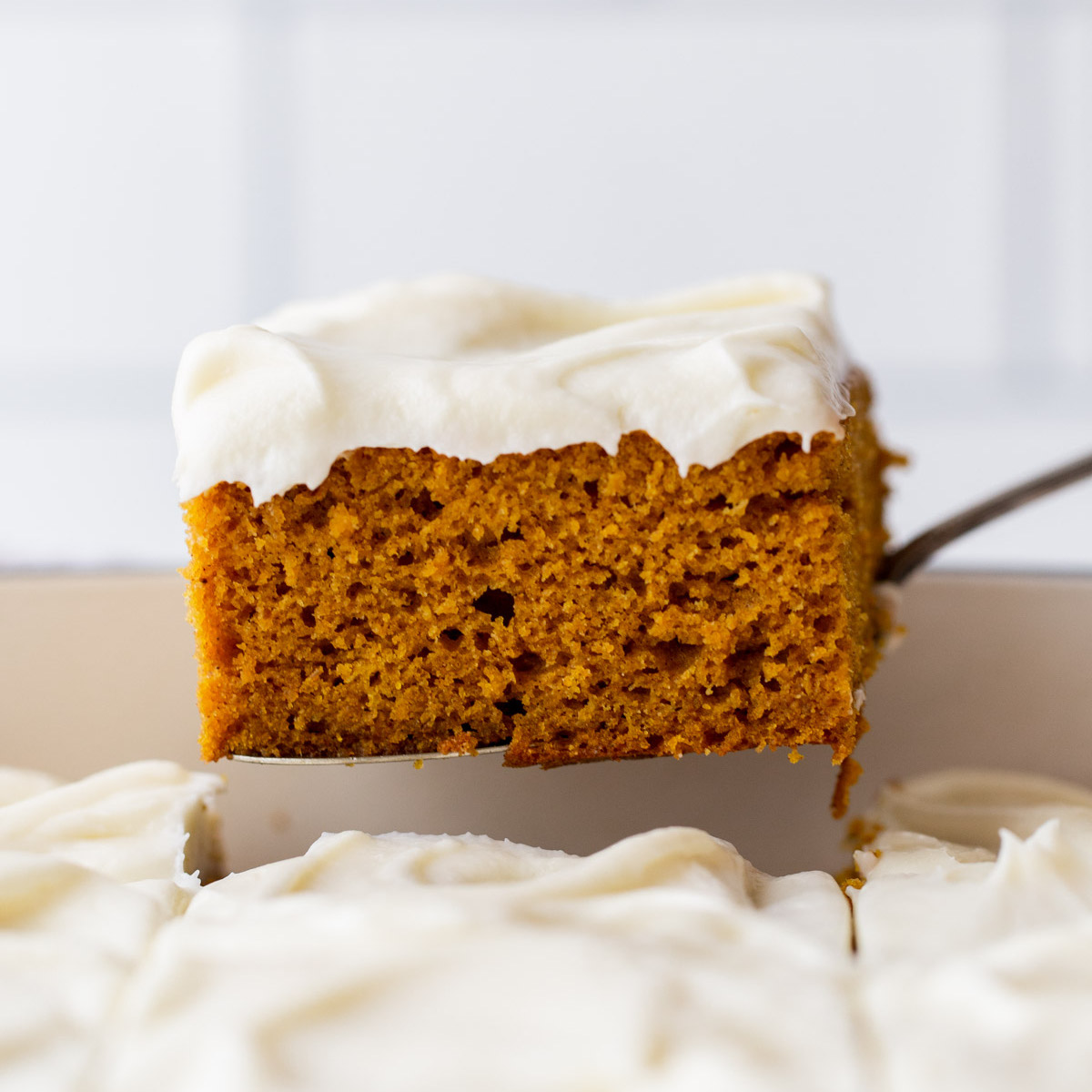 Pumpkin Cake With Cream Cheese Frosting Live Well Bake Often