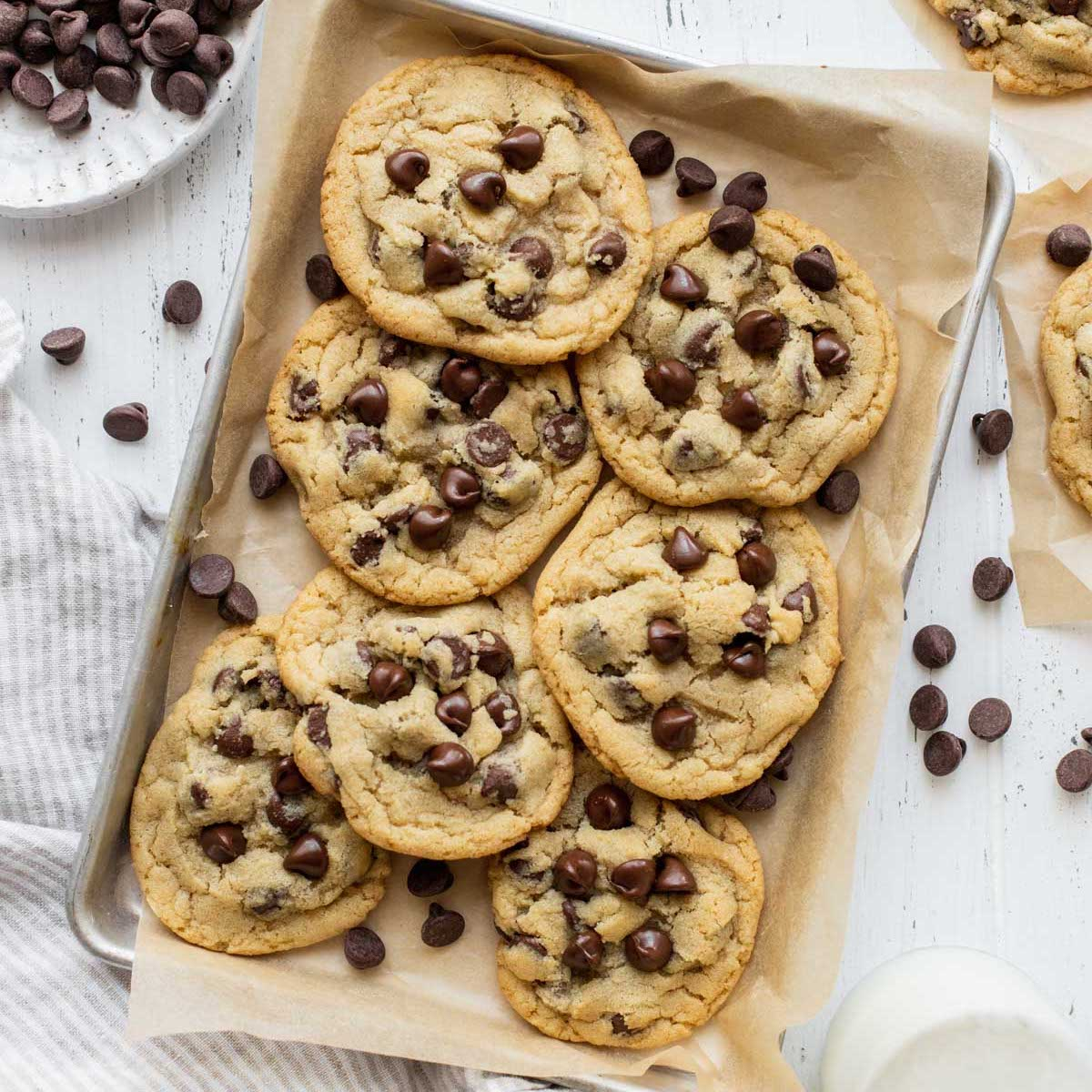 Small Batch Chocolate Chip Cookies Live Well Bake Often